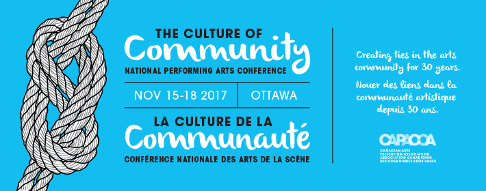 The Culture of Community - National Performing Arts Conference, Nov. 15-18, 2017