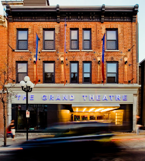 The Grand Theatre, in Kingston